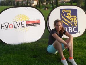 Kaylee de Jonge bij Evolve Spanish Open 2014